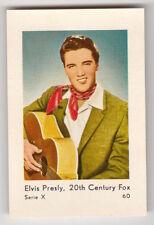 1960 Dutch Elvis Presley Series X 20Th Century Fox Card #60