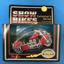 Maisto Show Bikes HTF Indian - RED Motorcycle