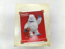Hallmark Rudolph And Bumble The Abominable Snowman Ornament 2005 Brand New Nrfb