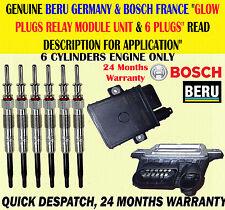 Para BMW X3 E83 X5 E53 E70 X6 E71 Deisel Bujía Beru Bosch Tapones De Relé De Control