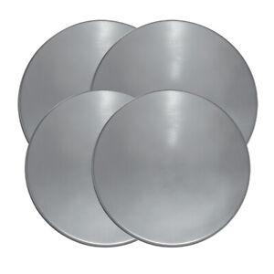 Range Kleen 550 Stainless Steel Round Burner Kovers Set of 4