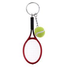 Tennis Racket Keychain Handmade Cute Tenis Racquet Ball Key-chain Key Ring