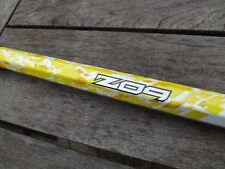 """New Without Tags Debeer 32"""" Boz Alloy Lacrosse Stick White/Yellow No Endcap"""