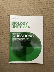 Neap Smartstudy Questions: VCE Biology Units 3&4
