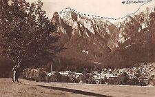 B71712 Busteni Vedere partiala cu muntii   prahova  romania