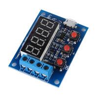 1X(Blue Batteriekapazität Meter Entladung Tester 18650 Li-Ion Lithium Blei-S 9P1