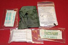 SURVIVAL GEAR MILITARY FIRST AID KIT BELT CLIP COMPASS POUCH HIKING SURPLUS EDC