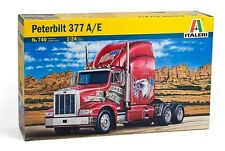 Italeri 740 1/24 Scale Model Tractor Truck Kit Peterbilt 377 A/E