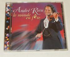 CD André RIEU : Le MONDE en FETE 2004 La dernière rose + La marche des Aviateurs