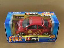 [PL3-11] BBURAGO BURAGO 1/43 STREET FIRE #41601 VOLKSWAGEN NEW BEETLE CUP NIB