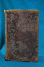 Dictionary of the Holy Bible Rev. John Brown 2 volumes in 1 Albany 1816