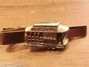 Vintage Anson - Powell & Mason, Cable Car Brass, Tie Clasp