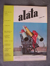 ALATA # 191 - RIVISTA AERONAUTICA - MAGGIO 1961 - BUONO