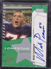 2002 Stadium Club Lone Star Signatures #LSMP Mike Pearson Auto