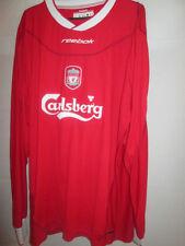 """Liverpool 2002-2004 Home Football Shirt Talla Xxl 50 """" -52"""" Ls / 20755"""