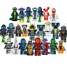 Hot Stock Set of 24pcs Ninjago Mini figure for Lego Kai Jay Building Blocks Toys