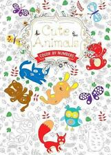 Cute Animals: Color by Numbers (Hobbies and Craft), , New Book