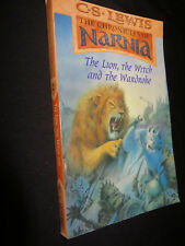 C S LEWIS The Chronicles of Narnia: The Lion, The Witch and the Wardrobe PB1980