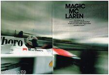 Coupure de presse Clipping 1988 (4 pages) Mc Laren Prost Senna