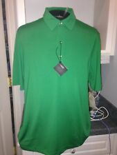 Nwt $75 Bobby Jones Bright Grass Green H20 Polyester Golf Polo Shirt Xl Xlarge