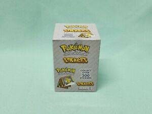 Pokemon ArtBox Sticker Serie 1 x Display / 30 Tüten / 300 Sticker