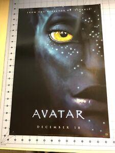 B-148 Avatar Movie Poster James Cameron 2009 Film Silk 36x24 18x12 Poster