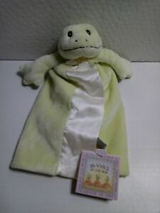 Bunnies By The Bay TADBIT FROG Bye Bye Buddy Lovey Security Blanket New RARE
