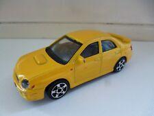 Subaru Impreza WRX STI - Yellow - Shell - Maisto - 1/43 - China