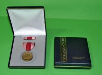 ARMY GOOD CONDUCT MEDAL PRESENTATION DISPLAY SET - Full size made in the U.S.A.