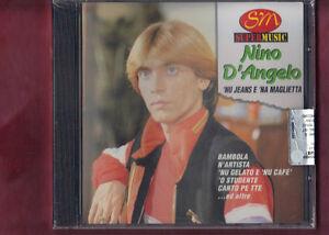 NINO D'ANGELO - NU JEANS E NA MAGLIETTA CD NUOVO SIGILLATO