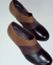 Leather Medium (B, M) Width Elastic Solid Shoes for Women