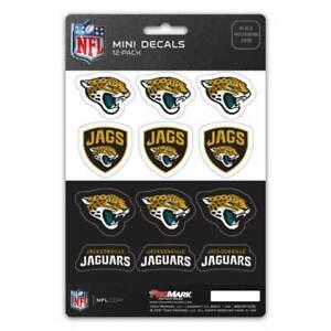 Jacksonville Jaguars - Set Of 12 Sticker Sheet
