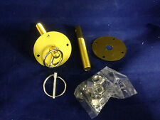 GOLD Aluminum Anodized Hood Pin Kit Flip Over Chevy Ford Chrysler Hot Rod Mopar