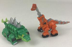 Dinotrux Garby Skya Figures Dinosaur Trucks Vehicle Die Cast Netflix 2015 Mattel