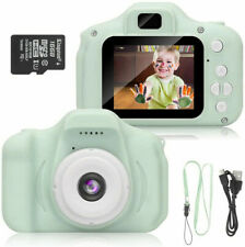 Kids Mini Digital Camera 1080P Cute Camcorder Video Recorder w/Memory card Gift
