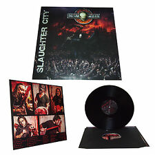"TOTAL DEATH - SLAUGHTER CITY  Official limited edition 12"" LP vinyl 2014"