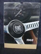 Calendario Fiat 1968 Dino coupè spider