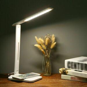 LED Schreibtischlampe Tischlampe dimmbar Leselampe Büroleuchte 7W