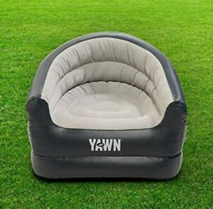 Yawn Inflatable air chair Deluxe Lounger Seat Relax Chair- bonus storage bag