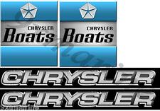 Chrysler Vintage Boat Remastered Decals