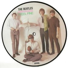 THE BEATLES 20th ANNIVERSARY PICTURE DISC SINGLE 1984 I FEEL FINE/SHE'S A WOMAN