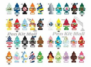 Wholesale Lot! Mix Of 25 Units of Little Trees Hanging Car Home Air Freshener