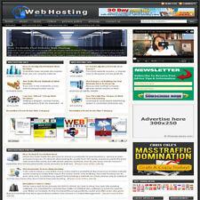 Established 'WEB HOSTING' Affiliate Website Turnkey Business (FREE HOSTING)