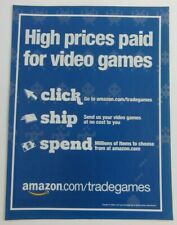 Amazon Trade Video Games Print Ad 8 x 11 in Poster Advertising Business