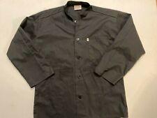 Uncommon Threads Work Wear Chefs Jacket Black Uniform Adult Large