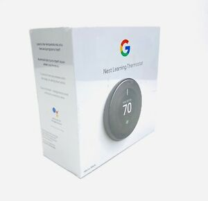 Google Nest Learning Thermostat 3rd Generation - Mirror Black - NEW SEALED