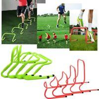 Fitness Adjustable Barrier Football Speed Training Hurdle Adjustable Height