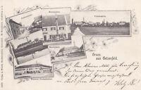 AK Geisenfeld; Brauerei Füchsbüchler, Judenstrasse (!), Amtsgericht, gel.30.8.00