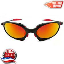 Romeo X-Metal Sunglasses Polarized UV400 Ruby Iridium Lenses & Metal Frames