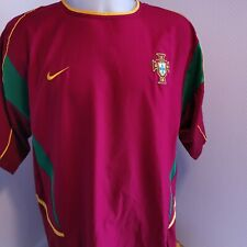 maillot  de football Portugal foot vintage 2002